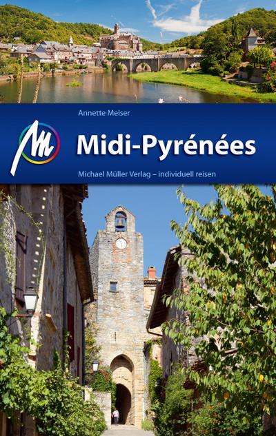 Midi-Pyr�n�es  Reiseführer mit vielen praktischen Tipps.     Deutsch  161 farb. Fotos -