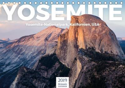 Yosemite - Nationalpark (Tischkalender 2019 DIN A5 quer)