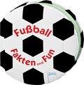 Fußball - Fakten und Fun   ; Fußball Sachbuch; , Mit farbigen Illustrationen, wattierter Einband mit Prägung, UV-Lackierung und schwarzem Flocking