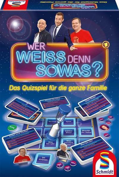 Schmidt Spiele 49356 Wer Weiss denn sowas, Quizspiel, bunt - Schmidt Spiele - Spielzeug, Deutsch, , Das Quizspiel für die ganze Familie, Das Quizspiel für die ganze Familie