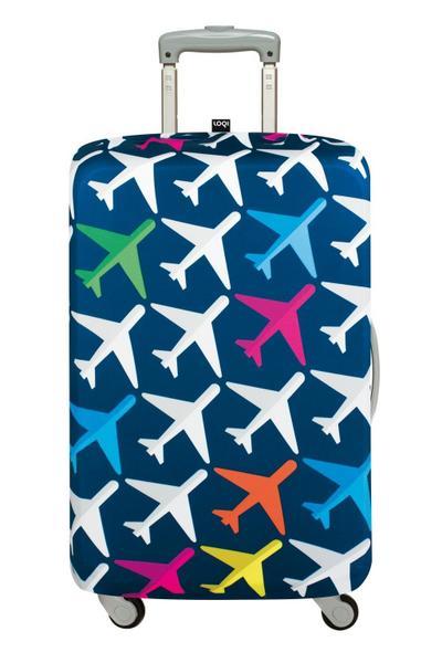 LOQI AIRPORT Airplane Luggage Cover - Kofferhülle - LOQI Gmbh - Textilien, Deutsch, , ,