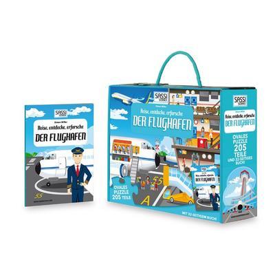 puzzle-bodenpuzzle-der-flughafen-205-teile-inklusive-begleitbuch