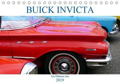 BUICK INVICTA - Der unschlagbare Oldtimer (Tischkalender 2019 DIN A5 quer)