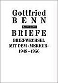 Briefe / Briefwechsel mit dem ''Merkur''. 1948-1956