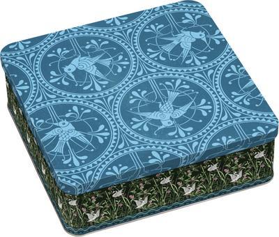 Gefährlich schön Geschenkdose - Motiv Blauer Vogel