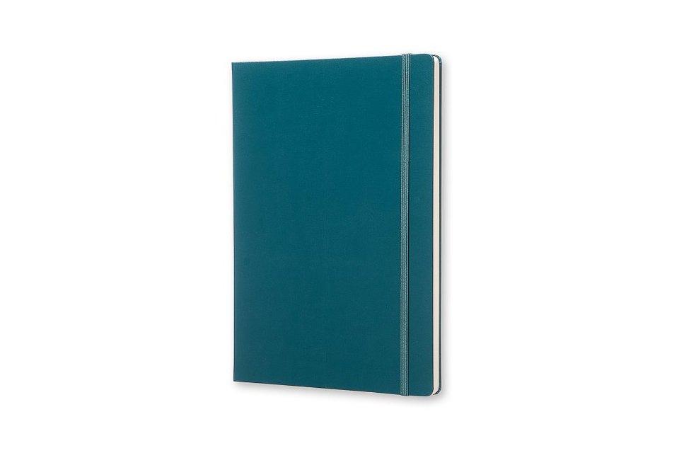 Moleskine-Konzeptbuch-A4-Liniert-Hard-Cover-Meergruen