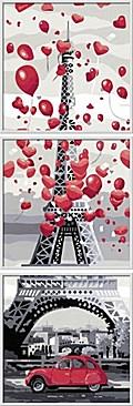 Paris, je t'aime. Malen nach Zahlen Sonderser ...