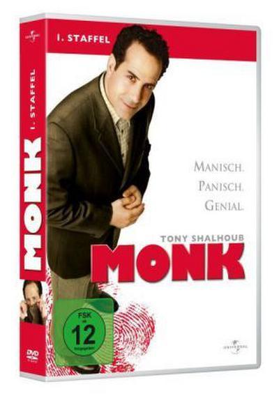 Monk - 1. Staffel [4 DVDs] - Universal Pictures Germany Gmbh - DVD, Englisch| Deutsch, Tony Shalhoub, Season 1 / Neuauflage, Season 1 / Neuauflage