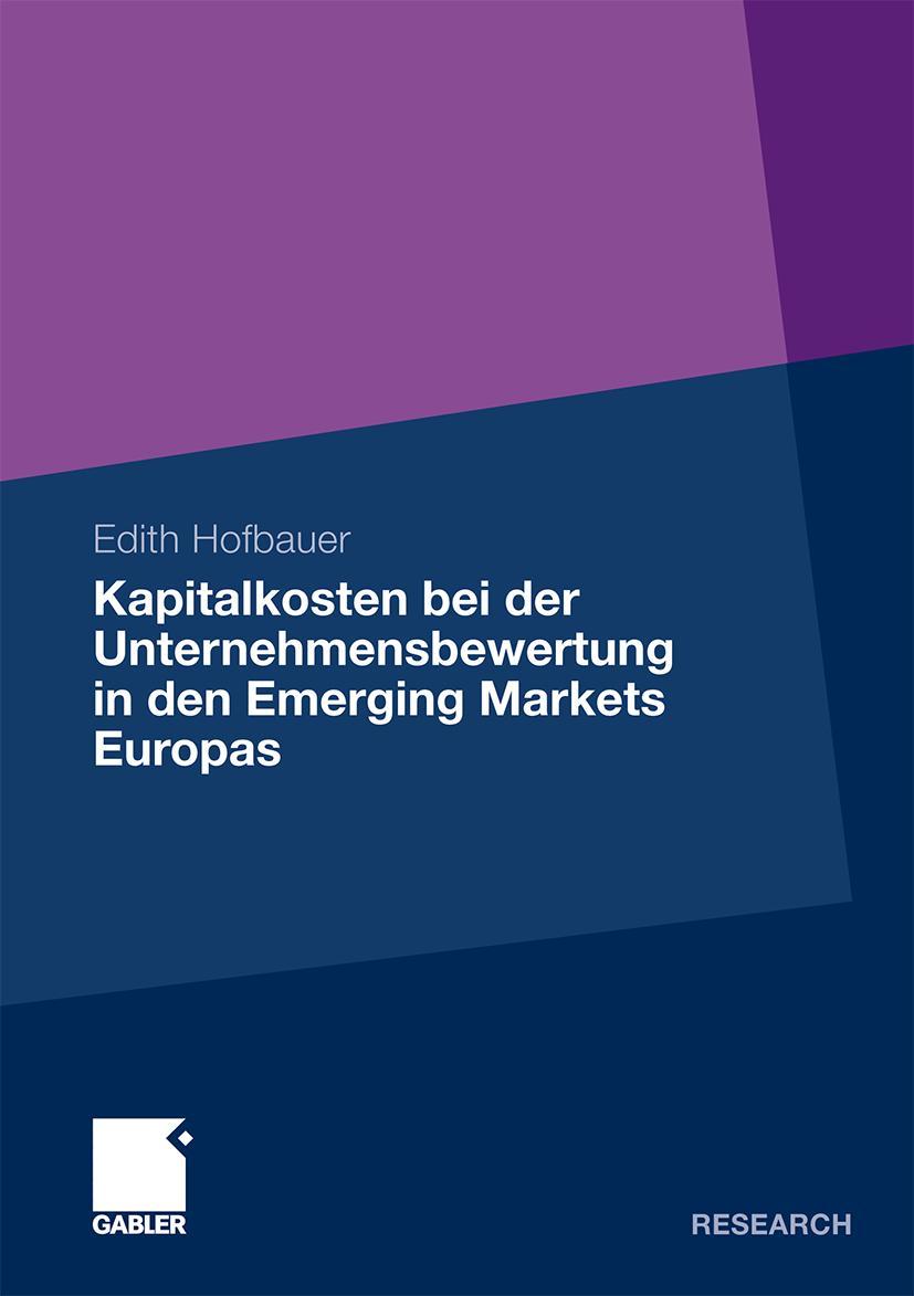 Kapitalkosten-bei-der-Unternehmensbewertung-in-den-Emerging-Markets-Europas