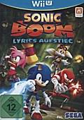 Sonic Boom, Lyrics Aufstieg, Nintendo Wii U-S ...
