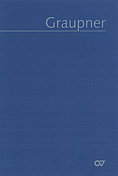 Graupner: Thematisches Verzeichnis der musikalischen Werke (GWV)