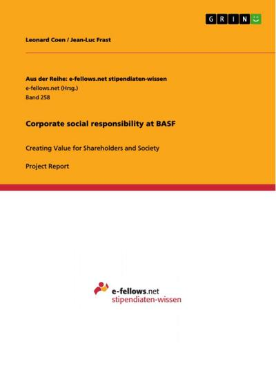 Corporate social responsibility at BASF