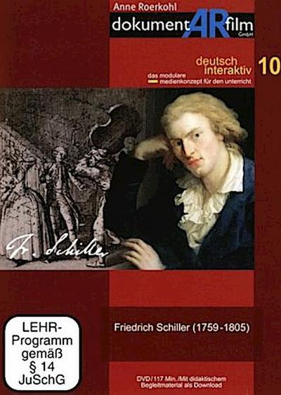 Friedrich Schiller (1759-1805), DVD - Dokumentarfilm - DVD, Deutsch, Anne Roerkohl, Mit didaktischem Begleitmaterial als Download, Mit didaktischem Begleitmaterial als Download