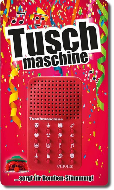 Die Tuschmaschine - Emons Verlag - Geschenkartikel, Deutsch, Rüdiger Liedtke, Sorgt für Bomben-Stimmung! Der Karnevaltusch auf Knopfdruck, Mit Schnur zum Umhängen, Maße: 6 x 10 x 2 cm, Sorgt für Bomben-Stimmung! Der Karnevaltusch auf Knopfdruck, Mit Schnur zum Umhängen, Maße: 6 x 10 x 2 cm