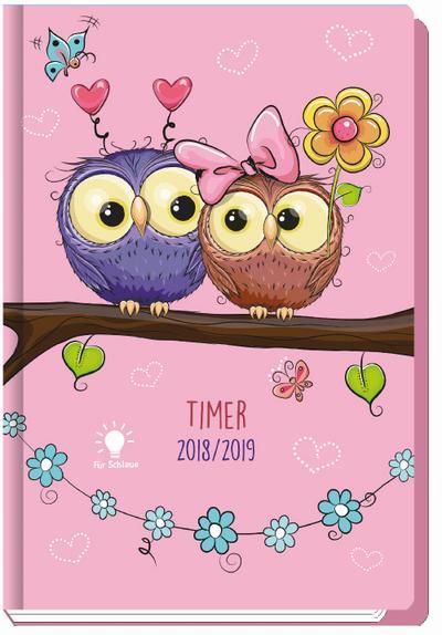schulerkalender-eulen-owls-2018-2019-schulplaner-schulerplaner-timer-mit-hardcover-und-stickern-