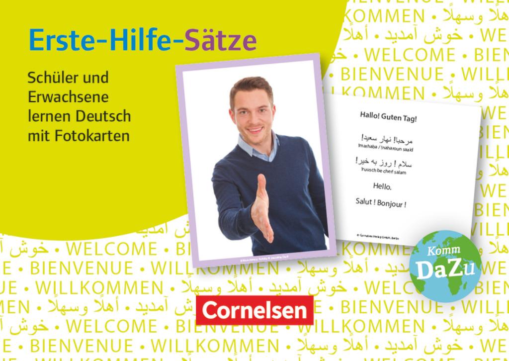 NEU-Erste-Hilfe-Saetze-Schueler-und-Erwachsene-lernen-Deutsch-mit-Foto-150229