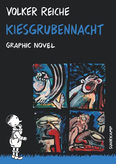 Kiesgrubennacht: Graphic Novel: (suhrkamp taschenbuch)