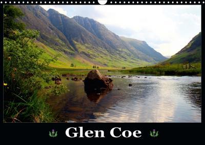 Glen Coe (Wandkalender 2018 DIN A3 quer)