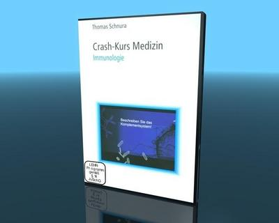 Crash-Kurs Medizin 14 - Immunologie - Video-Commerz Gmbh - DVD, Deutsch, Thomas Schnura, ,