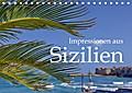 9783665915711 - k. A. M. Polok: Impressionen aus Sizilien (Tischkalender 2018 DIN A5 quer) - Eine Reise durch Sizilien. (Monatskalender, 14 Seiten ) - Livre
