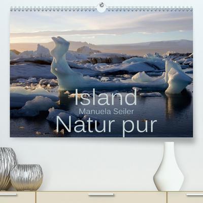 Calvendo Premium Kalender Island Natur pur: Einzigartige Landschaften im Süden Islands - Natur pur. (hochwertiger DIN A2 Wandkalender 2020, Kunstdruck in Hochglanz)