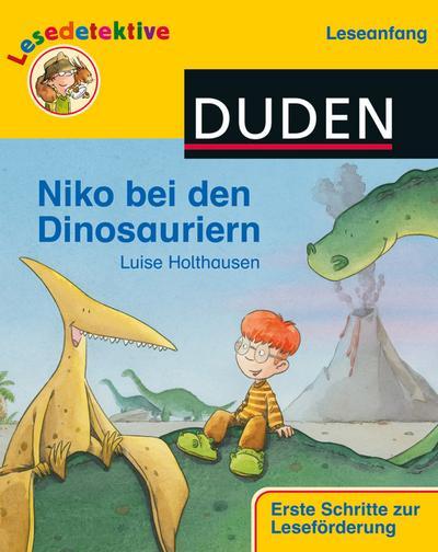 "Lesedetektive Leseanfang"", Niko bei den Dinosauriern (DUDEN Lesedetektive Leseanfang)"""