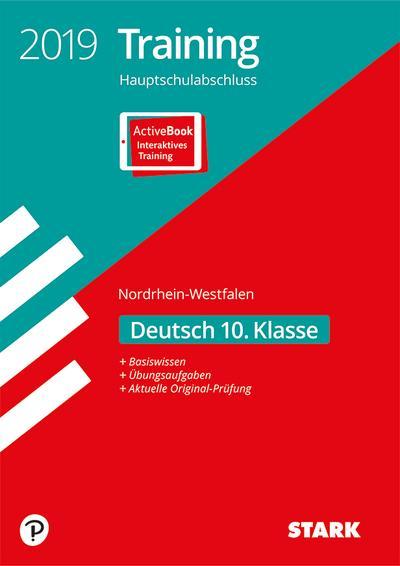 STARK Training Hauptschulabschluss 2019 - Deutsch - NRW: Ausgabe mit ActiveBook