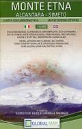 Monte Etna 1:50 000 Wanderkarte