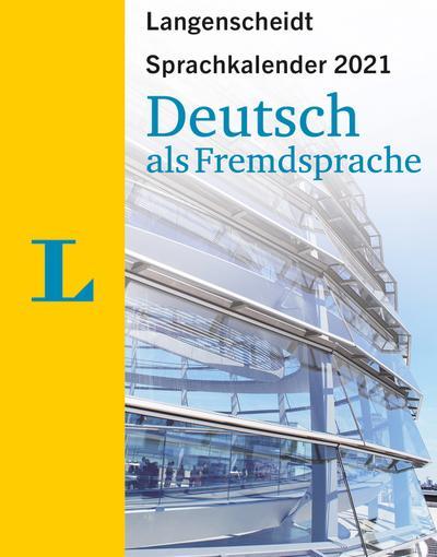 Sprachkalender Deutsch als Fremdsprache 2021