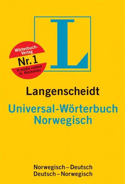 Langenscheidt Universal-Wörterbuch Norwegisch
