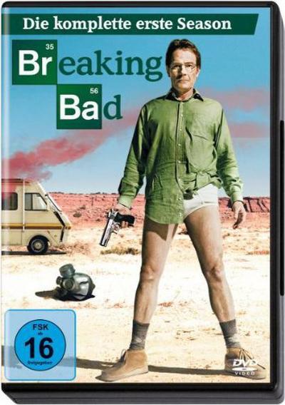 Breaking Bad - Die komplette erste Season [3 DVDs] - Sony Pictures Entertainment Deutschland Gmbh - DVD, Englisch| Deutsch| Hindi| Türkisch, Bryan Cranston, Deutsch/Englisch/Türkisch/Hindi, Deutsch/Englisch/Türkisch/Hindi