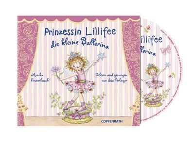 Die Kleine Ballerina - Coppenrath Verlag (Edel) - Audio CD, Deutsch, Monika Finsterbusch, ,