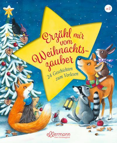 Erzähl mir vom Weihnachtszauber: 24 Geschichten zum Vorlesen
