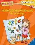 Kindergarten-Rätselspaß für unterwegs (Spiel  ...