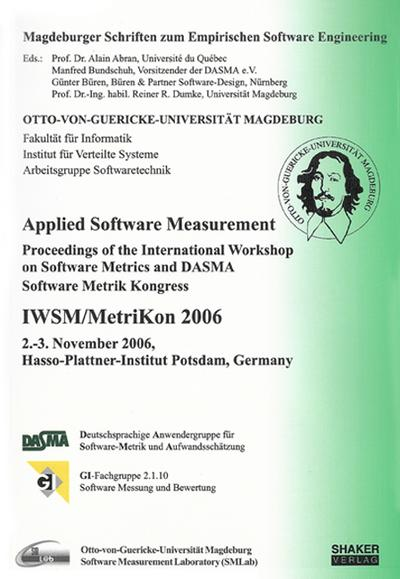 applied-software-measurement-proceedings-of-the-international-workshop-on-software-metrics-and-dasm