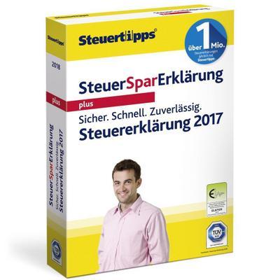 Akademische Arbeitsgemeinschaft SteuerSparErklärung Plus 2018 für Steuerjahr 2017, Standardverpackung - Akademische Arbeitsgemeinschaft - CD-ROM, Deutsch, , ,
