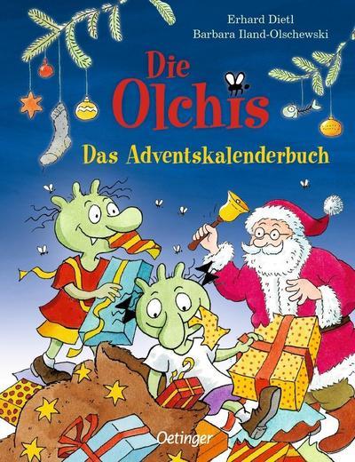Die Olchis: Das Adventskalenderbuch