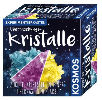 KOSMOS 656089 Überraschungskristalle selbst züchten, Experimentierset - KOSMOS - Spielzeug, Deutsch, , Züchte Kristalle in einer Überraschungsfarbe, Züchte Kristalle in einer Überraschungsfarbe