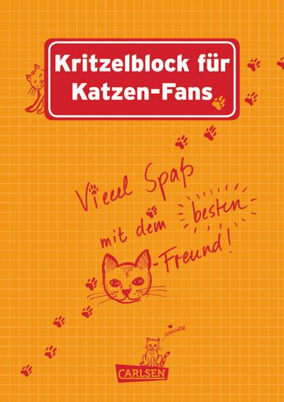 Kritzelblock für Katzen-Fans