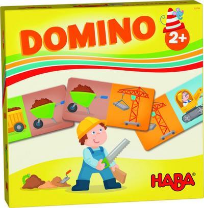 HABA-Lieblingsspiele - Domino Baustelle