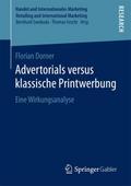 Advertorials versus klassische Printwerbung