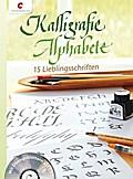 Kalligrafie Alphabete: 15 Lieblingsschriften