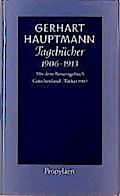 Tagebücher 1906 - 1913