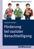 Förderung bei sozialer Benachteiligung. Fördern lernen Bd. 1
