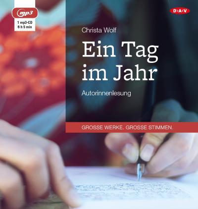 Ein Tag im Jahr: Autorinnenlesung (1 mp3-CD)