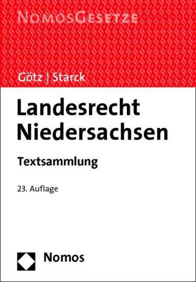 landesrecht-niedersachsen-textsammlung-rechtsstand-1-september-2014