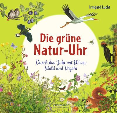 Die grüne Natur-Uhr: Durch das Jahr mit Wiese, Wald und Vögeln