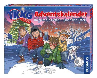 Kosmos 630539 TKKG Junior Adventskalender - KOSMOS - Spielzeug, Deutsch, , Komme den Tätern auf die Spur, Komme den Tätern auf die Spur