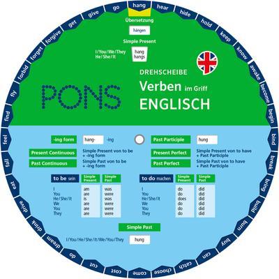 PONS Drehscheibe Verben im Griff Englisch: Verpackungseinheit 5 Exemplare - PONS - Unbekannter Einband, Deutsch| Englisch, , ,