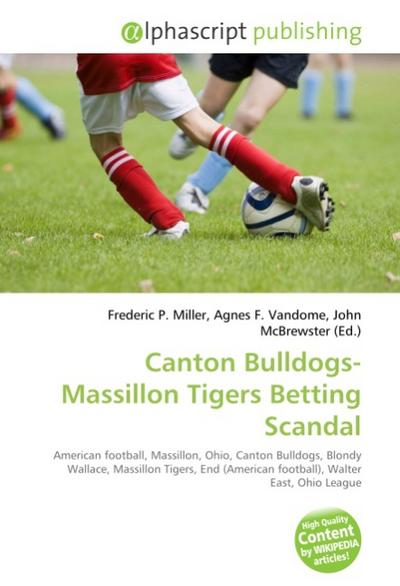 Canton Bulldogs-Massillon Tigers Betting Scandal